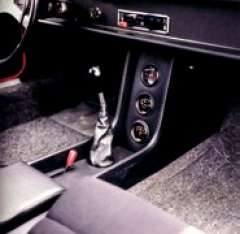 Centre console was optional only on 2-litre models