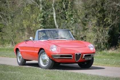 Alfa Spider Vs Jensen Healey Classic Car Reviews Classic