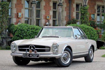 MercedesBenz Pagoda Classic Car Reviews Classic Motoring Magazine - Mercedes classic cars
