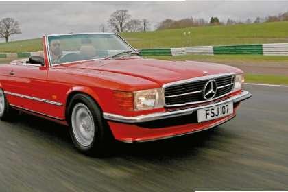 Mercedes-Benz R107 - Classic Car Reviews | Classic Motoring