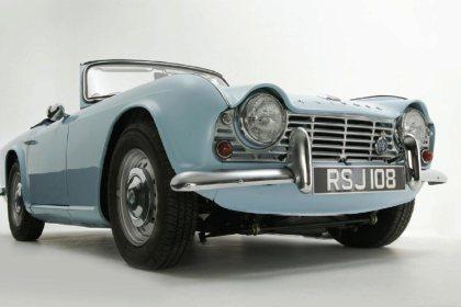 Triumph Tr4 4a Classic Car Reviews Classic Motoring Magazine