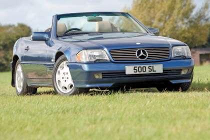 Mercedes R129 SL - Classic Car Reviews   Classic Motoring Magazine
