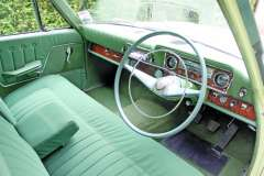 Zodiac is cracking looker (left). Cabin seats six as bench seats ruled back then