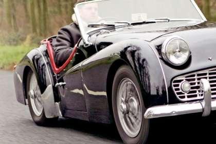 Triumph Tr Series Classic Car Reviews Classic Motoring Magazine