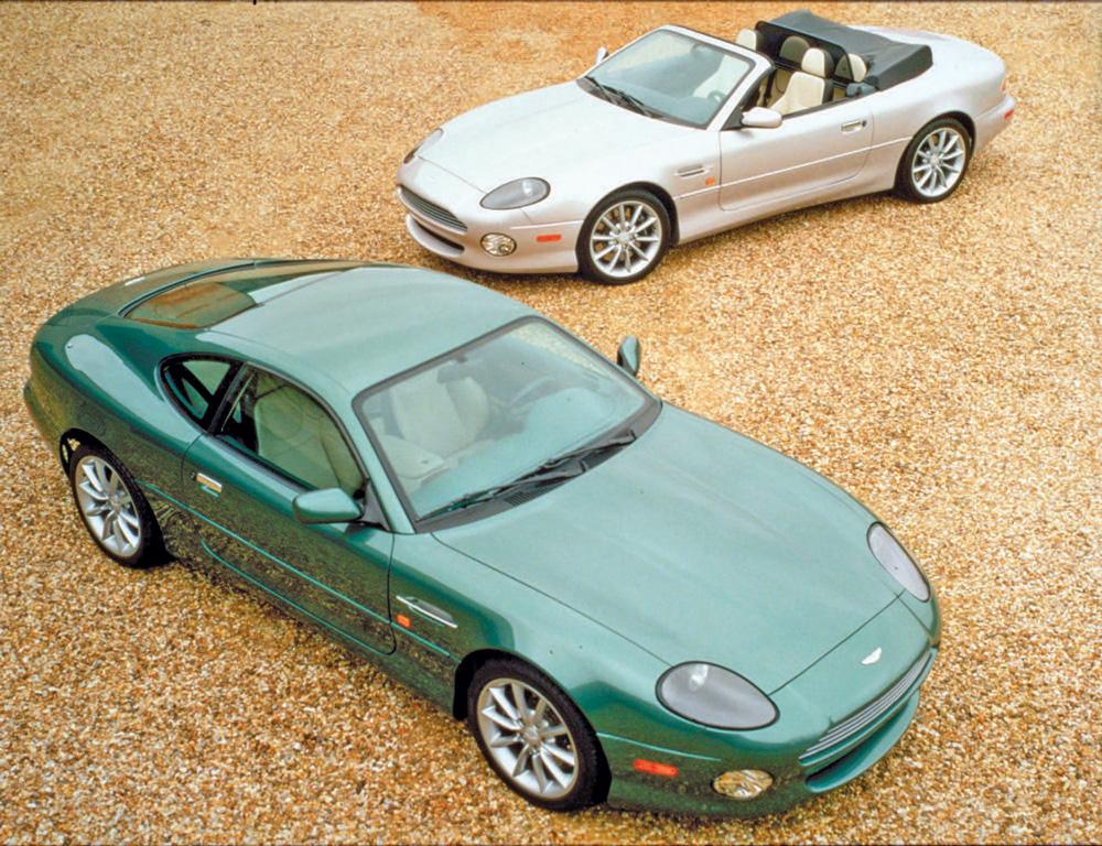 Jaguar Xk8 Vs Aston Martin Db7 Classic Car Reviews Classic Motoring Magazine
