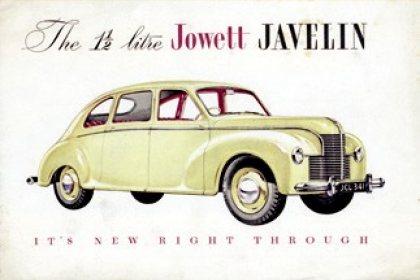 Jowett Javelin For Sale Jowett Javelin 1947 1953